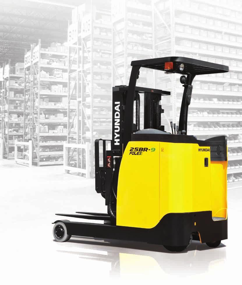 Electric Reach Trucks MOVING YOU FURTHER HYUNDAI HEAVY INDUSTRIES *