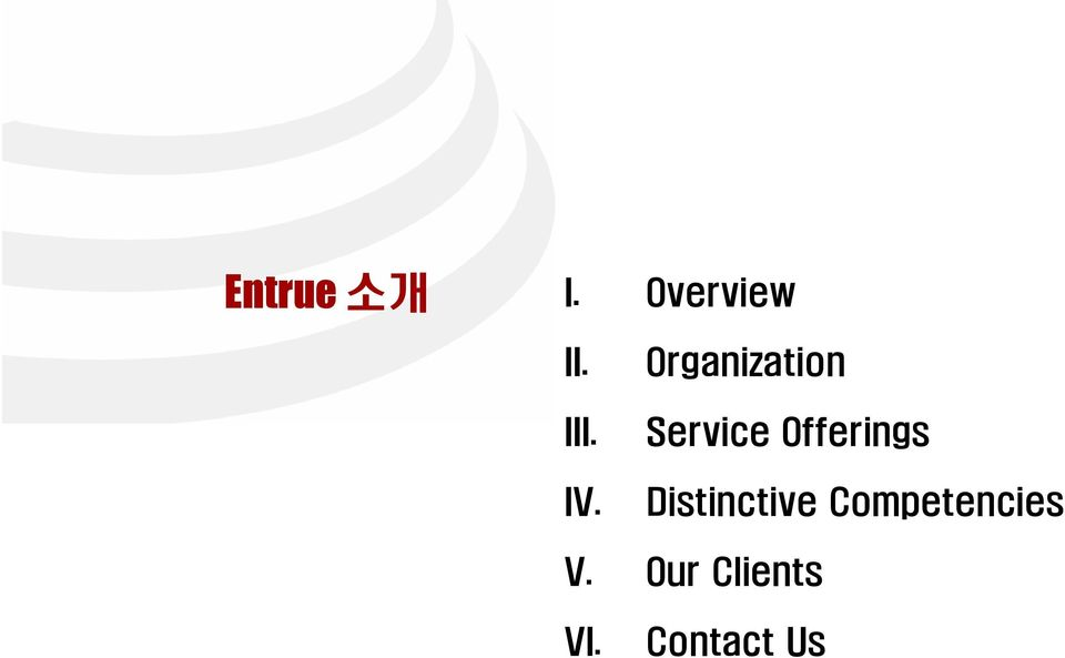 Organization Service Offerings