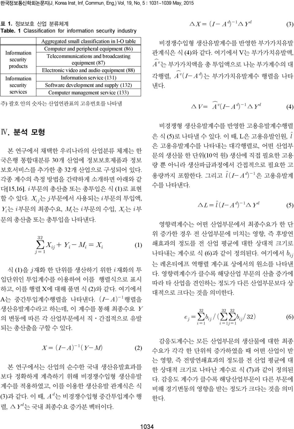 Telecommunications and broadcasting equipment (87) Electronic video and audio equipment (88) Information service (131) Software development and supply (132) Computer management service (133) 비경쟁수입형
