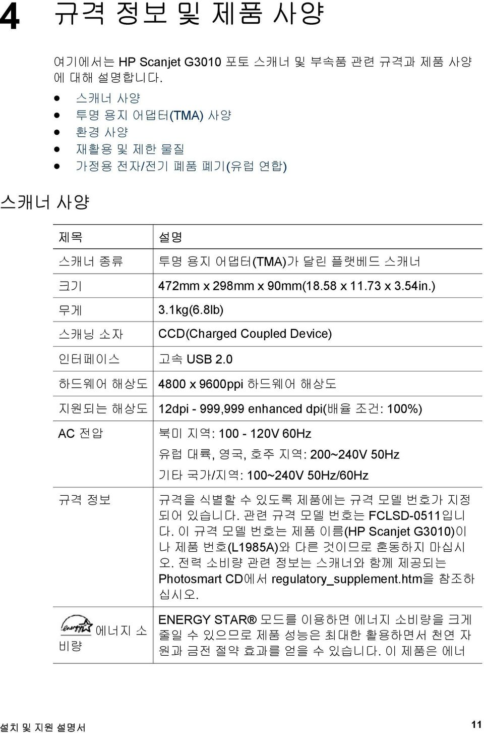 8lb) CCD(Charged Coupled Device) 인터페이스 고속 USB 2.