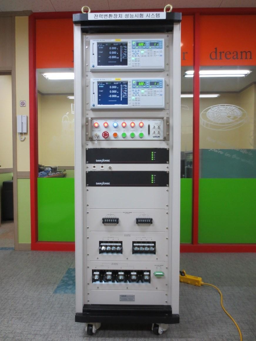Control & Operating Equip t 주요하드웨어 Main Specification 계통연계운전, 독립운전 Grid Simulator, Battery Simulator, PV Simulator,