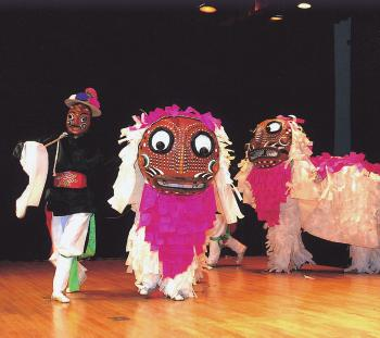 KOREAN MASK DANCE DRAMA FROM GANGRYEONG