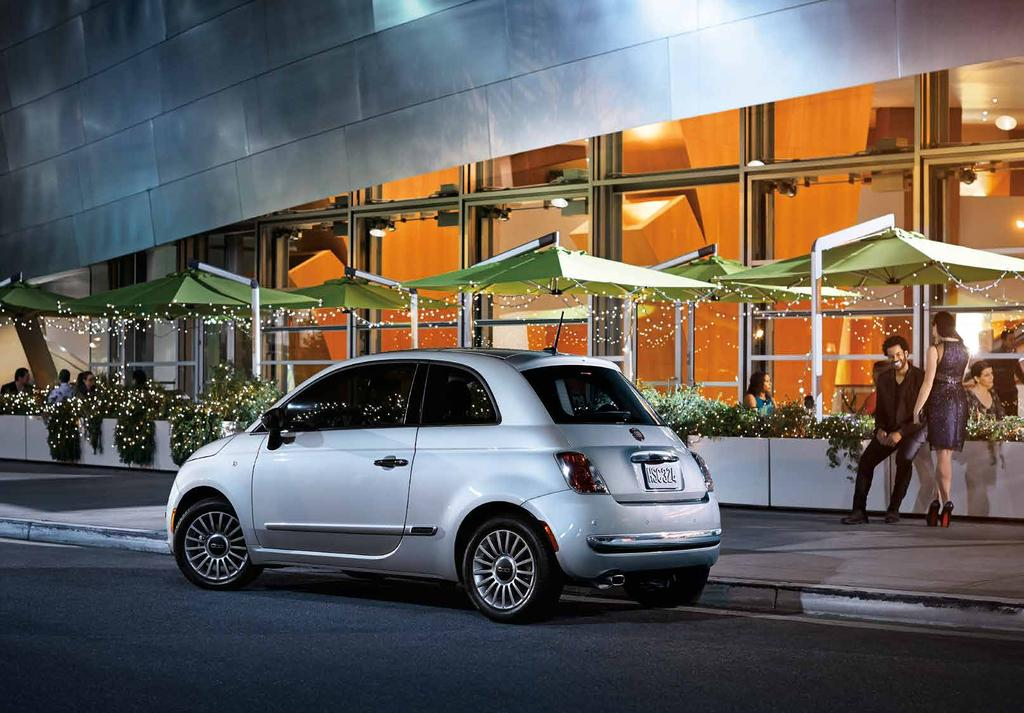 SOPHISTICATES, THIS IS YOUR COMFORT ZONE FIAT 500