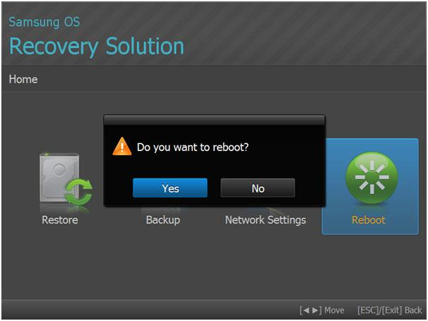 Samsung OS Recovery Solution
