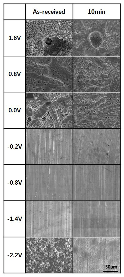 EVALUATION OF CORROSION AND THE ANTI-CAVITATION CHARACTERISTICS OF CU ALLOY BY WATER CAVITATION PEENING Fig. 10.