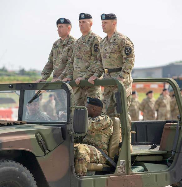 commanding general, conduct an inspection of troops as part of the 2nd