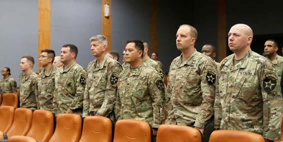 Sixteen 2nd Infantry Division/ROK-U.S. Combined Division NCOs received certificates of completion for Battle Staff Noncommissioned Officer Course 16-18 at a commencement ceremony held at the installation theater June 28.