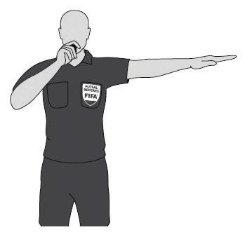 Referee and Assistant Referee Signals 주심과부심의신호 The referees must give the signals listed below, bearing in