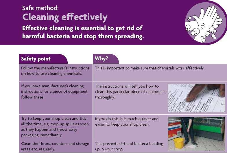 Cleaning effectively( 효과적인세