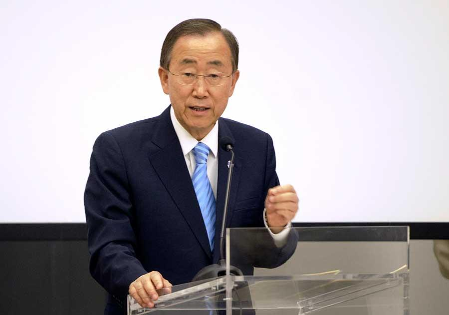 Secretary-General Ban Ki-moon said today that sustainable development will remain his top priority during his second term as the head of the United Nations, saying that key