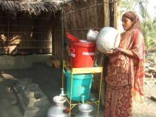 Arsenic, a deadly poison abundant in Bangladesh s soil and rock, has leached up through the water table into wells across the country, exposing an estimated seventy-five to ninety-five million