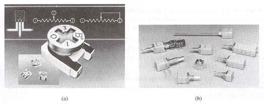 Potentiometers Potentiometers: (a) 4-mm( 5/3 )trimmer(courtesy of